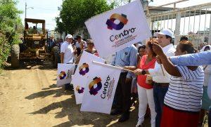 Lleva Gerardo Gaudiano obras por 2.3 mdp al sector Coquitos de Gaviotas Sur