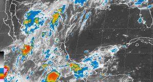 Onda tropical 22 favorece precipitaciones vespertinas en la Península de Yucatán