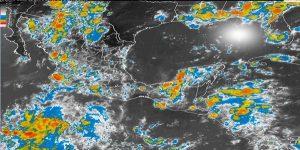 Lluvias con tormentas muy fuertes se prevén en ocho entidades del país