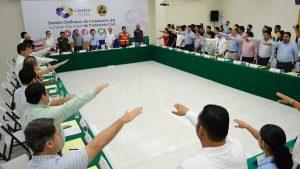 Instalan Comité Municipal de Protección Civil en Centro; listos para la temporada de lluvias