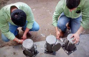 Estudiantes del Tecnológico de Villahermosa, convierten PET en concreto para preservar la grava