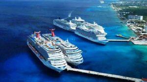 Inicia semana, llegan 11 Cruceros a Cozumel y dos a Mahahual