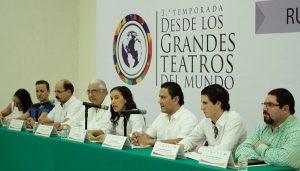 """Proyectarán en Parque La Choca espectáculo """"Desde los Grandes Teatros del Mundo"""""""