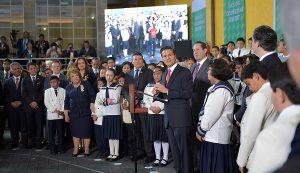 El futuro de las niñas y niños no se negocia, la educacion es primero: Enrique Peña Nieto