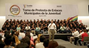 Los jóvenes, elemento valioso para construir una sociedad exitosa en Yucatán