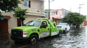 Activa Tránsito del Estado auxilio vial en el puerto de Veracruz
