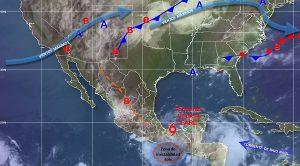 Earl toca tierra por segunda ocasión, ahora en las costas de Veracruz