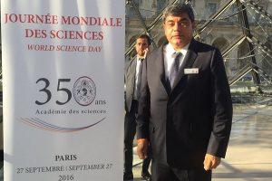 Participa el rector de la UJAT en celebración de la Academia de Ciencias de Francia