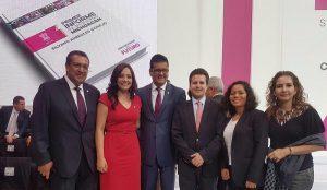 Acude Gerardo Gaudiano a Primer Informe de Gobierno de Silvano Aureoles, en Michoacán