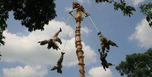 Celebran 7° aniversario de la Ceremonia Ritual de Voladores como Patrimonio de la Humanidad