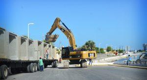 Arranca los trabajos de la primera etapa del encajonamiento de la Ría en la capital campechana