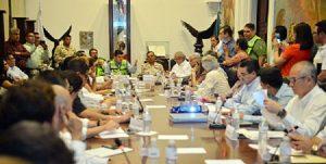 """Autoridades de Sonora, preparados ante posibles afectaciones por """"Newton"""""""