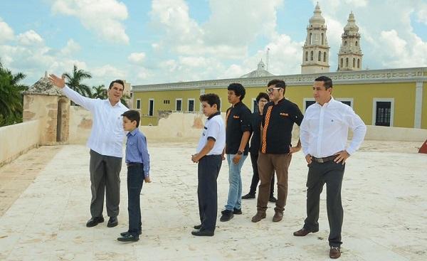 Campeche el turismo la fortaleza AMC