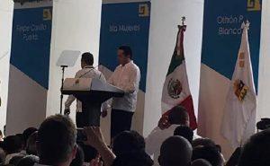 Contra viento y marea llego el cambio a Quintana Roo: Carlos Joaquín González