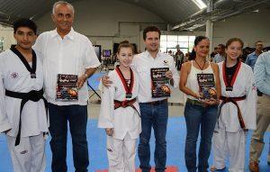 Inaugura Gerardo Gaudiano torneo internacional de Tae Kwon Do en Centro
