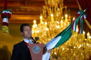 Encabezó el Presidente Enrique Peña Nieto la Ceremonia del Grito de Independencia
