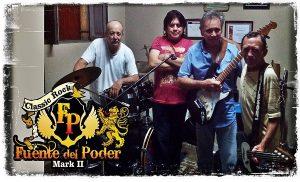 Fuente de Poder rinde tributo a inmortales del rock en Yucatán