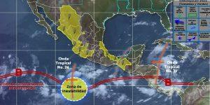 Se prevé que de septiembre a noviembre continúe el aumento en las lluvias en México
