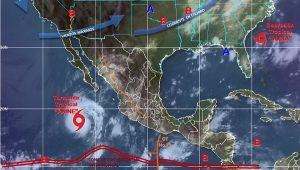 Mantiene Paine tormentas muy fuertes en Baja California Sur durante las próximas horas