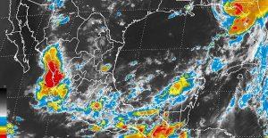 Al sur de Chiapas se presenta 60% de probabilidad de desarrollo ciclónico