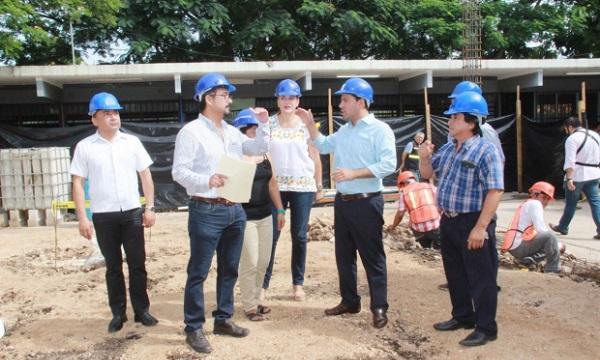 Supervisa el alcalde mauricio vila construcci n de nuevo for Proyecto de construccion de comedor escolar