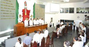 Inicia Congreso de Tabasco, Segundo Periodo Ordinario de Sesiones del Primer Año
