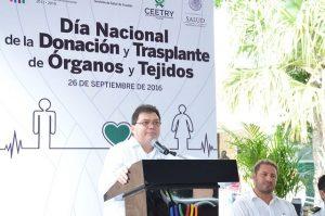 Conmemoran en Yucatán, Día Nacional de Donación y Trasplante de Órganos y Tejidos
