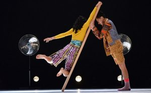 Ruptura de fronteras en espectáculo dancístico
