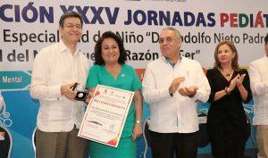Es Hospital del Niño referente nacional en servicios médicos: Arroyo Yabur