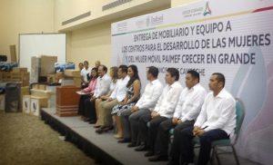Abren centros para erradicar desigualdad y violencia contra la mujer en Campeche