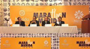 El alcalde, Mauricio Vila Dosal, presenta en la Ciudad de México el Maratón de Mérida 2017