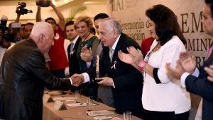 "Entrega Núñez Premio de Administración Pública ""Lic. Mario Trujillo García"""