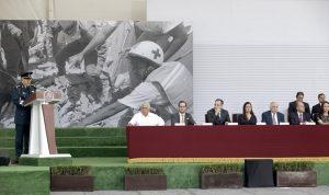 Reconoce Arturo Núñez Jimenez, apoyos del Ejército Mexicano con el Plan DN-III-E