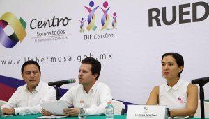 Presenta Gaudiano actividades de la primera etapa del acuerdo Villahermosa-CDMX
