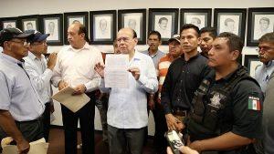Concretan acuerdos con policías; reinicia operaciones la SSP en Tabasco