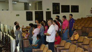Visitan estudiantes de la UJAT el Congreso de Tabasco