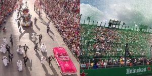 Más de 700 mil personas disfrutaron de Festividades del Día de Muertos y Fórmula 1 en CDMX
