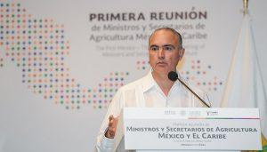 Refuerza México alianza en materia agroalimentaria con la zona del Caribe
