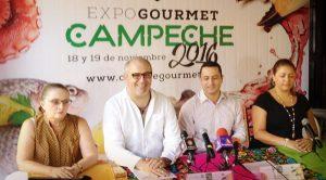 """Promocionara """"Expo Gourmet"""" 18 y 19 de noviembre productos de Campeche"""