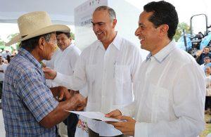 El campo en Quintana Roo, nunca más estará solo en esta administración: Carlos Joaquín