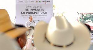 Canalizan SAGARPA y gobierno de Quintana Roo 184 MDP para incentivos y maquinaria agrícola
