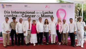 Yucatán avanza en prevención y detección oportuna del cáncer de mama