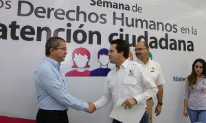 """Inauguran """"Semana de los Derechos Humanos en la Atención Ciudadana"""" en Centro"""