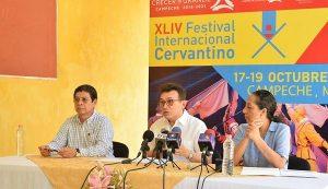 Regresa el Festival Internacional Cervantino a Campeche