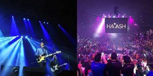 Disfrutaron en Tabasco, conciertos de Rock en tu idioma y Ha-Ash