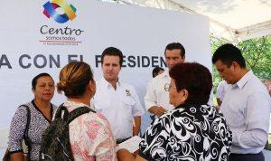 Atiende Gerardo Gaudiano a los habitantes de Estanzuela; trabajar cerca de la gente, prioridad