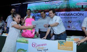 Participa alcalde de Centro en entrega de premios del 6º Concurso de Dibujo, Pintura Infantil y Juvenil