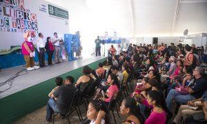 Clausura Piña Gutiérrez Ful Tabasco Internacional en la que participaron cerca de 280 casas editoriales