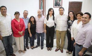 Construir una convivencia sana y pacífica para mejorar la recaudación de Puerto Morelos: Laura Fernández