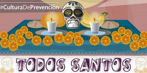Recomendaciones preventivas para fiestas de Todos los Santos 2016: PC
